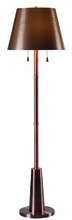 Kenroy Home 32569ANCP - Biblio Floor Lamp