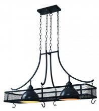 Kenroy Home 93130ORB - Montgomery 2 Lt Pot Rack Chand