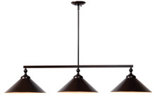 Kenroy Home 93247ORB - Conical 3 Light Island Light