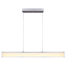 "Canarm LCH132A40BN - ALI, LCH132A40BN, 40"" Wide Rod LED Chandelier, Acrylic, 45W LED (Integrated), Dimmable, 2081 Lum"