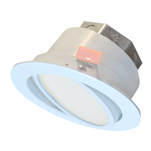 "Canarm LED-SW3P-WT-C - LED Recess Downlight, LED-SW3P-WT-C, 3"" White Color Gimbal Trim, 6W Dimmable, 3000K, 400 Lumen,"