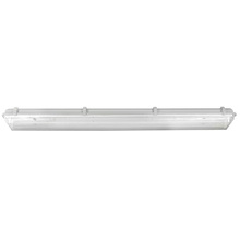 "Canarm LP848218-DB6K - LED Tube Fixture, LP848218-DB6K, 48"" Vapour, 2 Bulb, 18W LED Tube T8 6000K (Included), No Ballas"