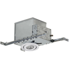 "Canarm RI4NC2TGWH - Recessed, RI4NC2TG WH, 4"" Insulated with Tilting Gimbal Trim (T4TG02WH), New Constrution, 1 x 50"