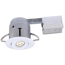 Canarm RN31RG2WH-LED - Recessed, RN31RG2WH-LED, IC and Non-IC REMODEL, White Gimbal Trim 1 x Bymea 7.5W 500Lumen 3000K GU10