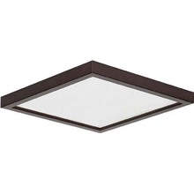 "Canarm LED-SM8DL-ORB-C - LED Disk, LED-SM8DL-ORB-C, 8"" ORB Color Square Trim, 18W Dimmable, 3000K, 1000 Lumen, Surface Mo"