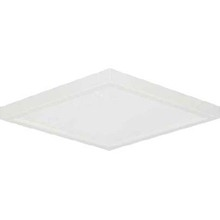 "Canarm LED-SM8DL-WT-C - LED Disk, LED-SM8DL-WT-C, 8"" White Color Square Trim, 18W Dimmable, 3000K, 1000 Lumen, Surface M"