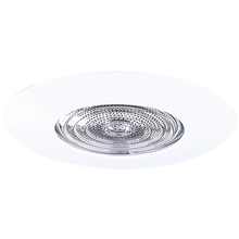 "Canarm T5SF - Recessed, 5"" Shower Fresnel Lens with Clear glass Trim for Non-IC, WH,  Non-IC 40W A19"