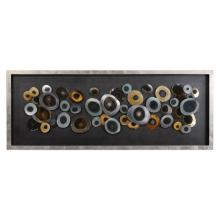 Uttermost 04058 - Uttermost Discs Silver Shadow Box