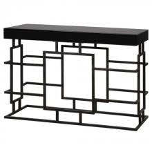 Uttermost 24643 - Uttermost Andy Black Console Table