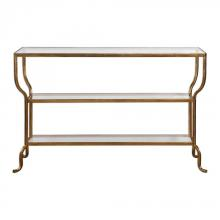 Uttermost 24668 - Uttermost Deline Gold Console Table