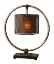 Uttermost 27649-1 - Uttermost Dalou Hanging Shade Table Lamp
