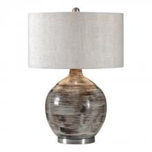 Uttermost 27656-1 - Uttermost Tamula Distressed Ivory Table Lamp