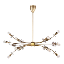 Hudson Valley 2716-AGB - 16 Light Chandelier