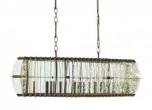 Currey 9034 - Zanzibar Rectangular Chandelier